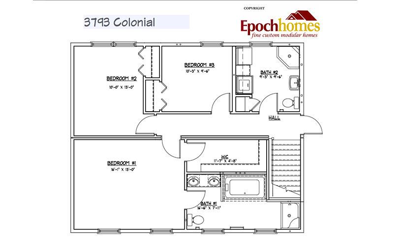 colonial-floor-1 Custom Colonial 3
