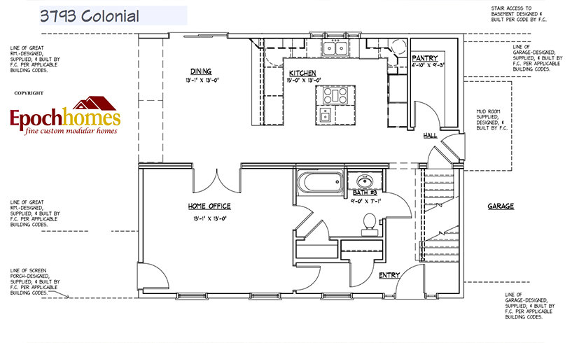colonial-floor-4 Custom Colonial 3