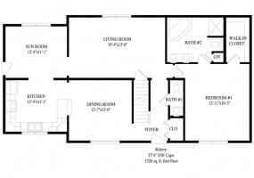 thimg_Kittery-first-floor-plan_285x200 Cape Modular Homes 2