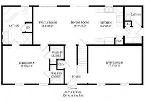 thimg_Hattaras-first-floor-plan_285x200 Cape Modular Homes 2