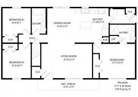 thimg_Wheatfield-first-floor-plan_285x200 Ranch Modular 2