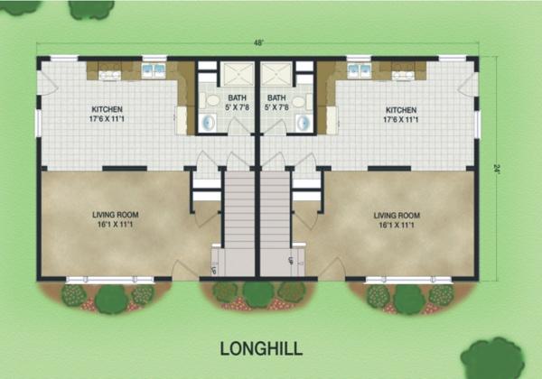 2 Bedrooms Bedrooms,2 BathroomsBathrooms,Multi-Family Modular Homes,1028