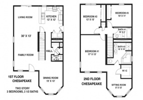 thimg_Chesapeake-B-first-floor-plan_285x200 2 Story Modular Home Modulars 2
